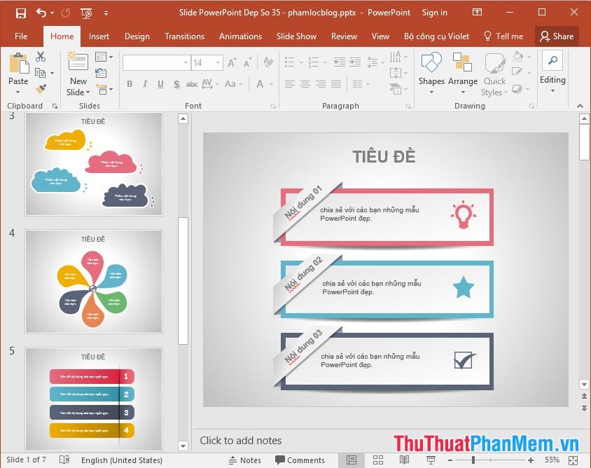 Tổng hợp những mẫu PowerPoint, mẫu Slide đẹp