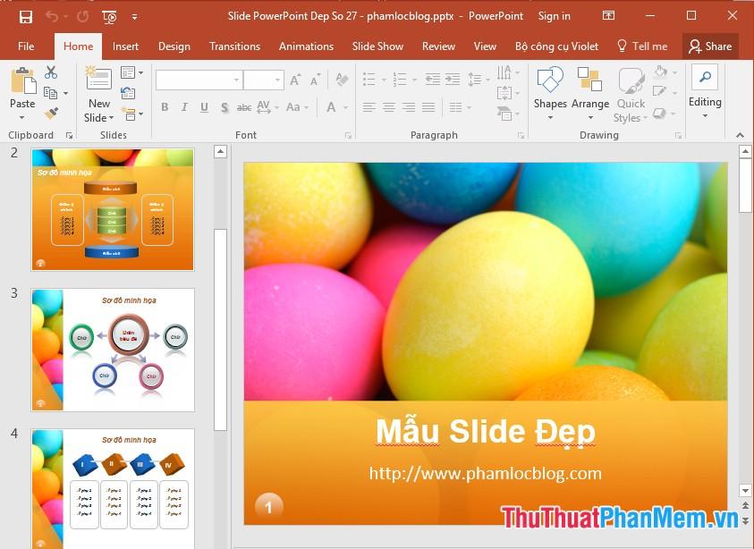 Tổng hợp những mẫu PowerPoint và Slide đẹp