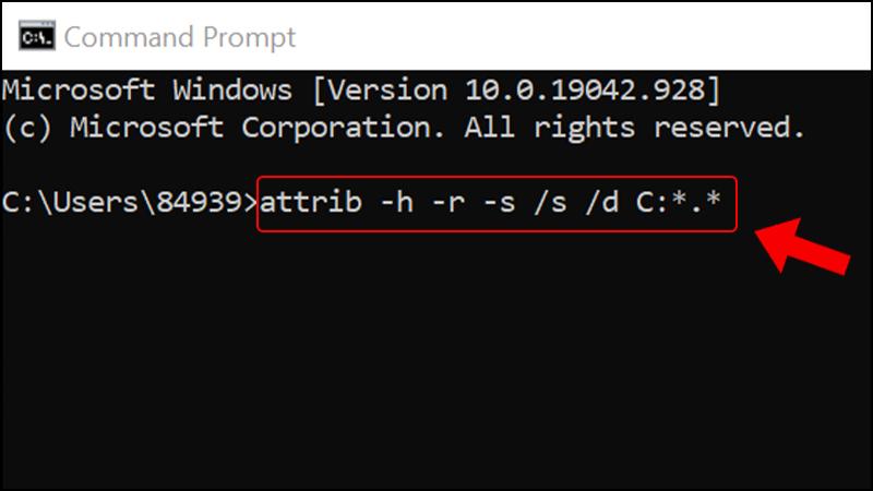 Dùng Command Prompt để khôi phục file đã xóa 5 cách khôi phục file đã xóa trên Windows 10 không cần phần mềm