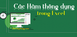Cac ham thong dung trong Excel