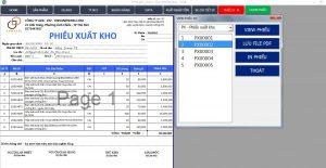 Phần mềm xuất nhập tồn bằng Excel
