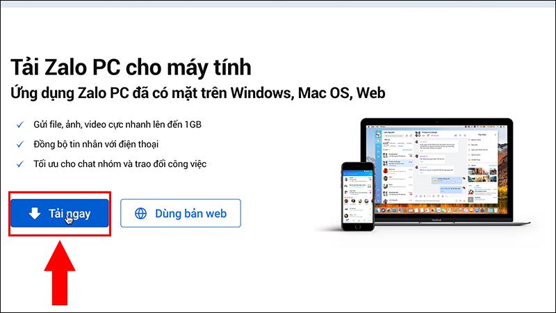 Tải xuống Zalo trên trang chủ [Video] Cách tải và cài đặt Zalo cho Macbook cực đơn giản dễ thực hiện