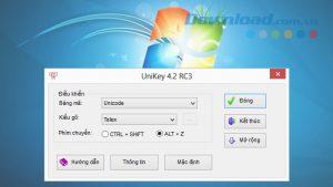 Hướng dẫn cách chuyển mã văn bản với Unikey
