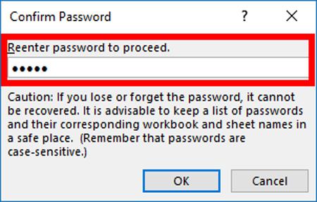 Đổi mật khẩu trong file