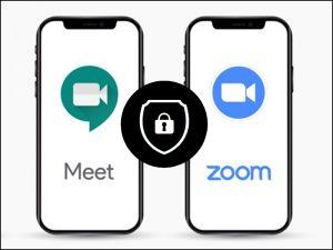 Tính bảo mật của Zoom có phần yếu hơn Google Meet