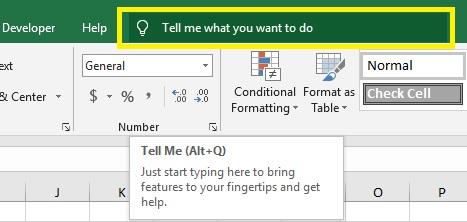 huong-dan-su-dung-tell-me-1 Bài 01: Làm quen với giao diện Excel 2019