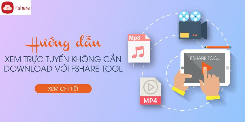 Cách xem online link Fshare trên điện thoại và PC