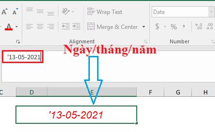 Cách sửa lỗi ngày tháng bị đảo ngược trong Excel
