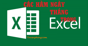 Cac ham thoi gian trong Excel