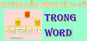 cach ve so do trong Word