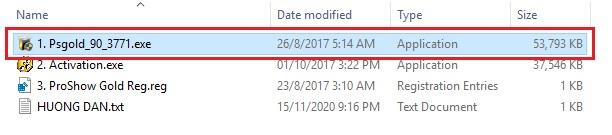 Hướng dẫn tải, cài đặt phần mềm Proshow Gold 9.0.3771 Full