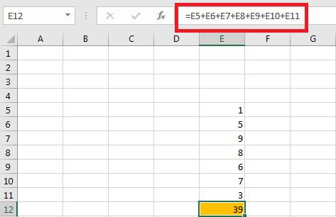 Cách Tính Cộng Trừ Nhân Chia Trong Excel