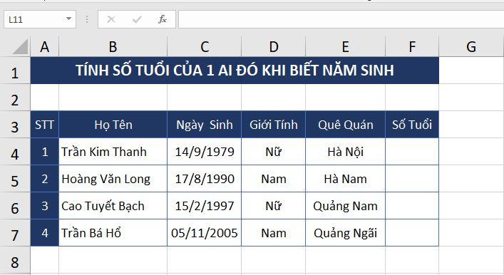 vi-du-2-ham-today-excel-2019-mau Hàm NGÀY THÁNG