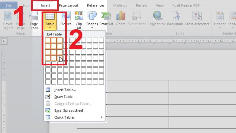 Vẽ bảng Cách làm bảng chấm công trên Word trên máy tính đơn giản, cực chuẩn