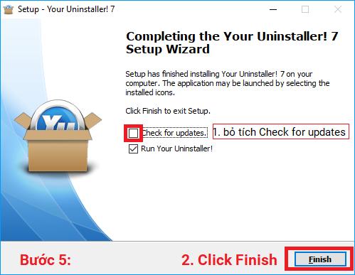 Hướng dẫn tải, cài đặt và sử dụng phần mềm Your Uninstaller