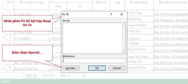 Xử lý lỗi file Excel chạy chậm