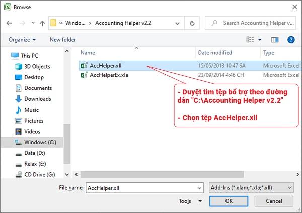 Hàm đổi số thành chữ trong Excel 2019