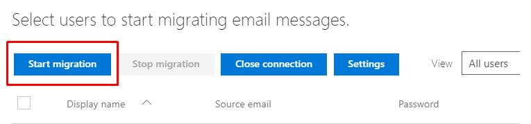 Hướng dẫn chuyển dữ liệu Email từ một máy chủ khác sang máy chủ Office 365