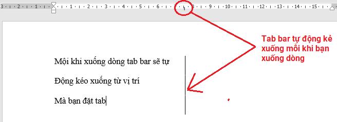 tab-bar-tab-thanh-thang Định dạng Tab trong Word