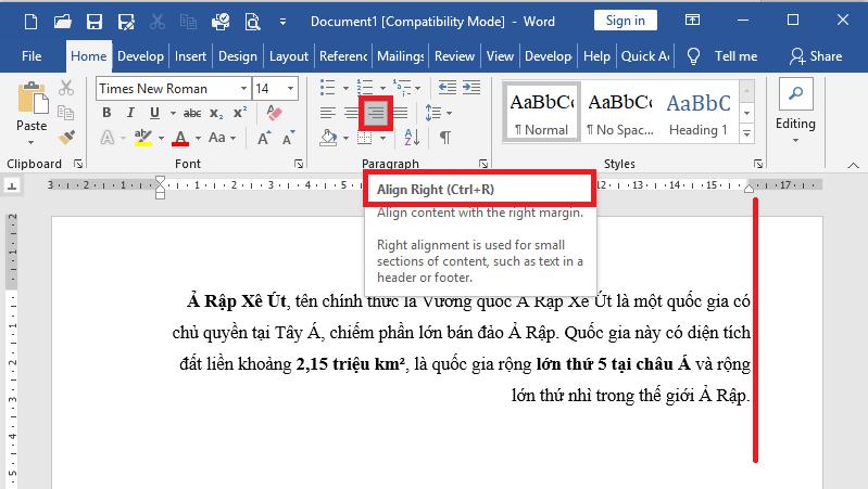 vi-du-tab-phai-1Định dạng Tab trong Word