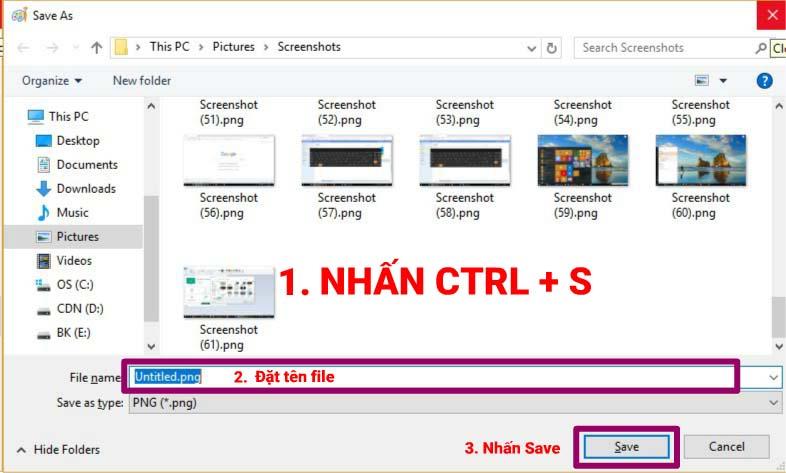 Tổng hợp các cách chụp màn hình trên windows 10 mà không cần dùng phần mềm thứ 3
