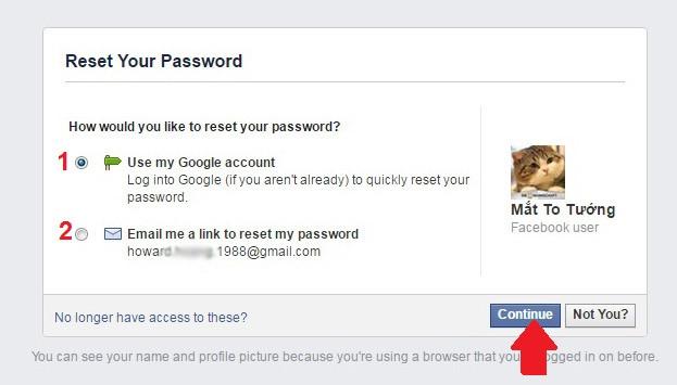Hướng dẫn cách lấy lại mật khẩu Facebook 2021
