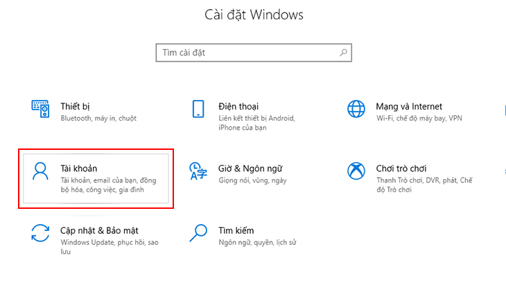 cách đặt mật khẩu cho máy tính đảm bảo an toàn nhất - Cách cài mật khẩu máy tính sử dụng hệ điều hành Windows