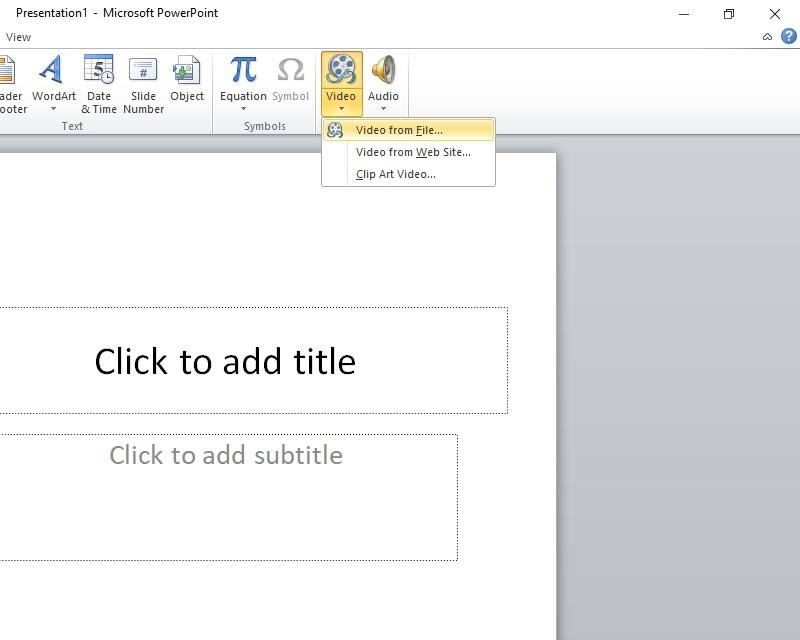 Cách chèn video vào powerpoint chi tiết dễ hiểu dễ làm